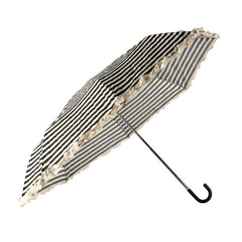 Accessories Umbrella Parasol Black and White 80cm