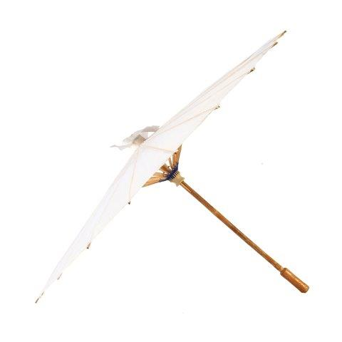 Accessories Umbrella Parasol White Paper 80cm