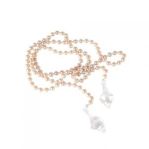 Accessories Pearl Pink String with Crystal 95cm