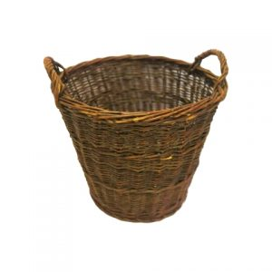 Basket Jess Dark Brown Wickerx