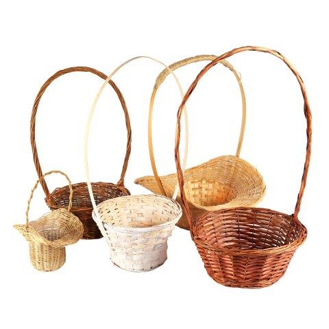 Basket Wicker Confetti MIxed