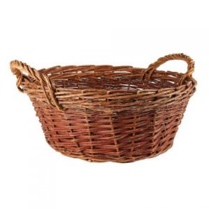 Basket Wicker Round Harriet
