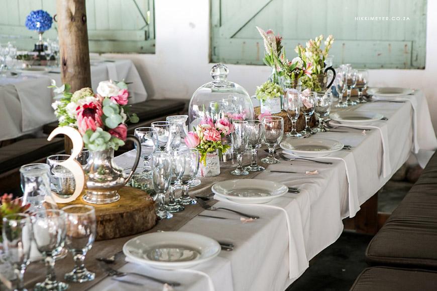 Beach Weddings Classic Table Arrangements