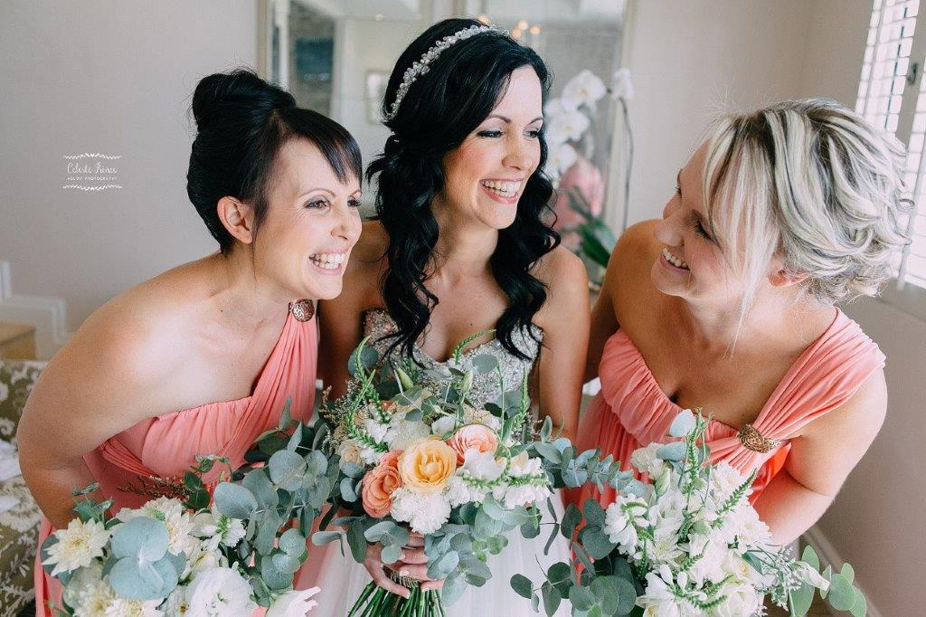 Beautiful Brides Bridesmaids Bouquet