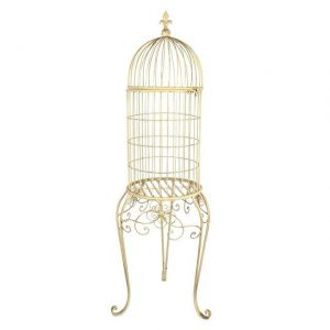 Birdcage Cream with Stand X Large