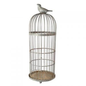 Birdcage Grey Bird Large