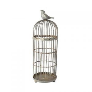 Birdcage Grey Bird Medium