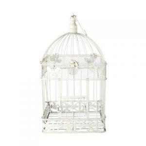 Birdcage White Square Mediumx