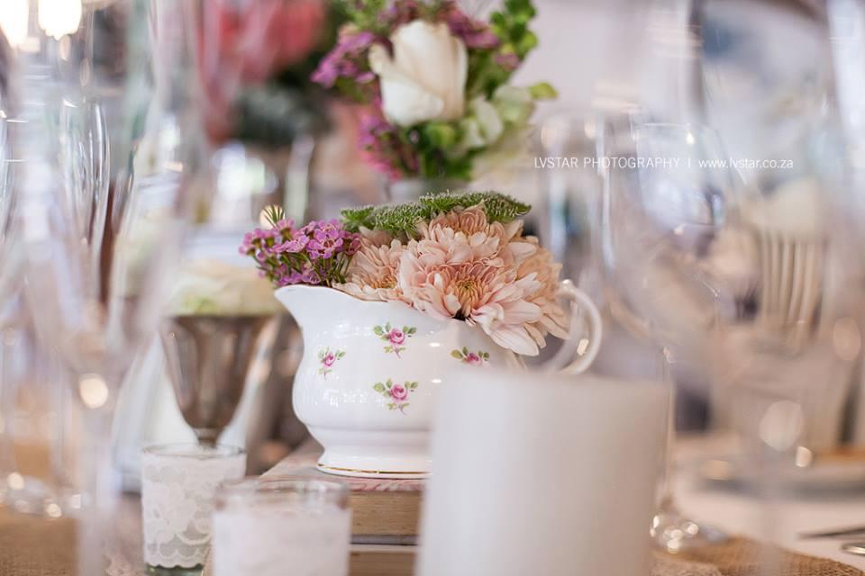 Blush Vintage Floral Focal Points