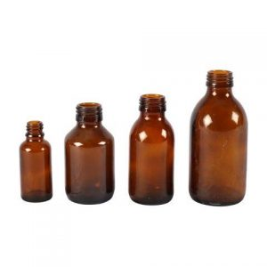 Bottle Brown Mixed Plain