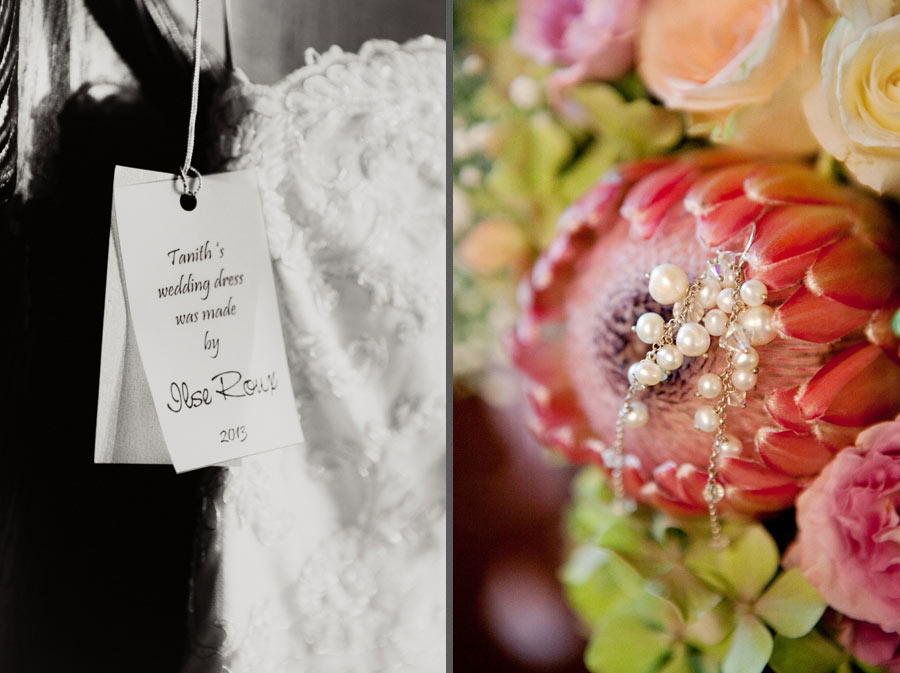 Bouquet of Pearl String and Protea