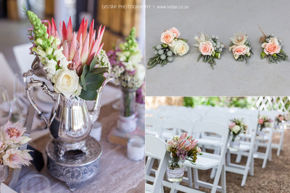Button Holes Ceremony Chairs Wedding Decor