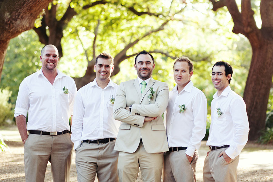 Button holes and Grooms Men
