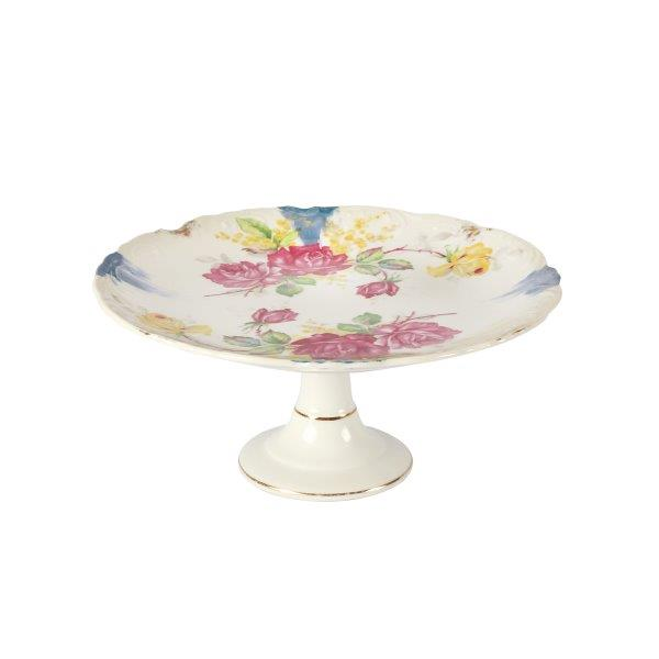 Cake Stand  Tier Lace Rose
