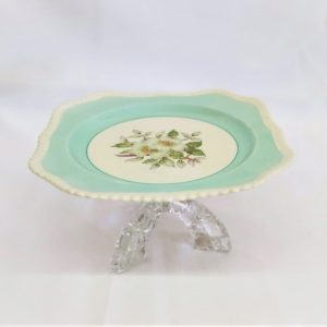 Cake Stand  Tier Mint  Leg