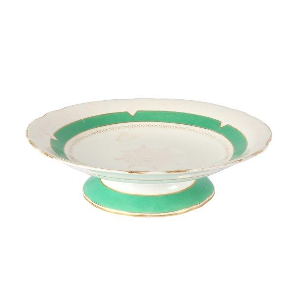 Cake Stand Green Ring  Tier cm