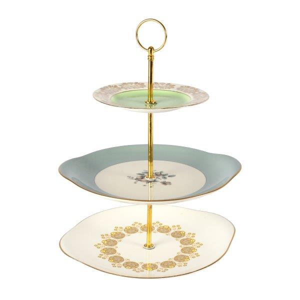 Cake Stand Mint  Tier