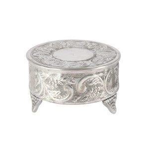 Cake Stand Pewter Silver