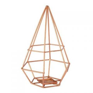 My Pretty Vintage Décor Hire wedding coordinating Paarl Candle Holder Himmeli Copper