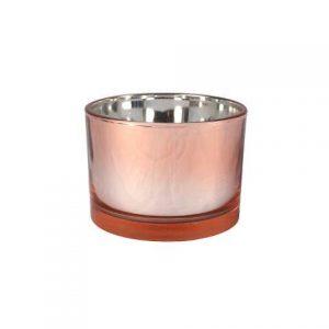 Candle Holder Rose Gold Mirror Vase Large