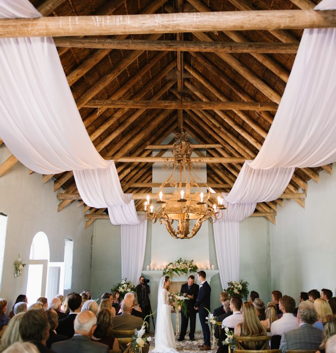 Ceremony Ceiling Draping Decoration