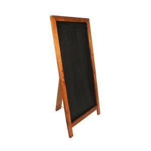 Chalkboard A Frame Dark Wood L