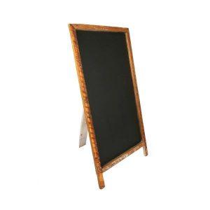 Chalkboard A Frame Dark Wood M