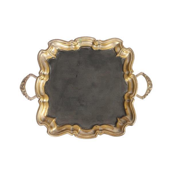 Chalkboard Brass Tray Shell