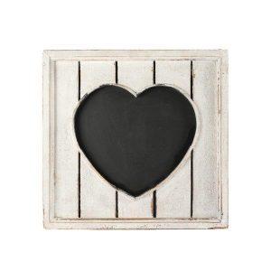 Chalkboard Grey Heart Frame