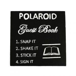 Chalkboard Poloroid