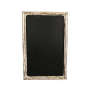 Chalkboard Rustic White