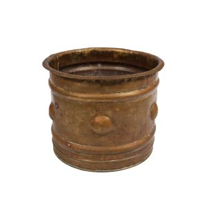 Container Brass Bowl with Studs