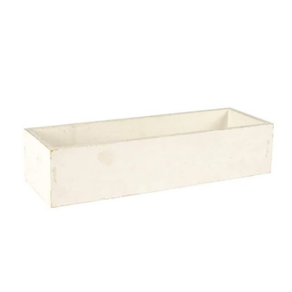 Container White Planter Box