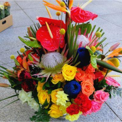 Corporate Presidential Flower Decor