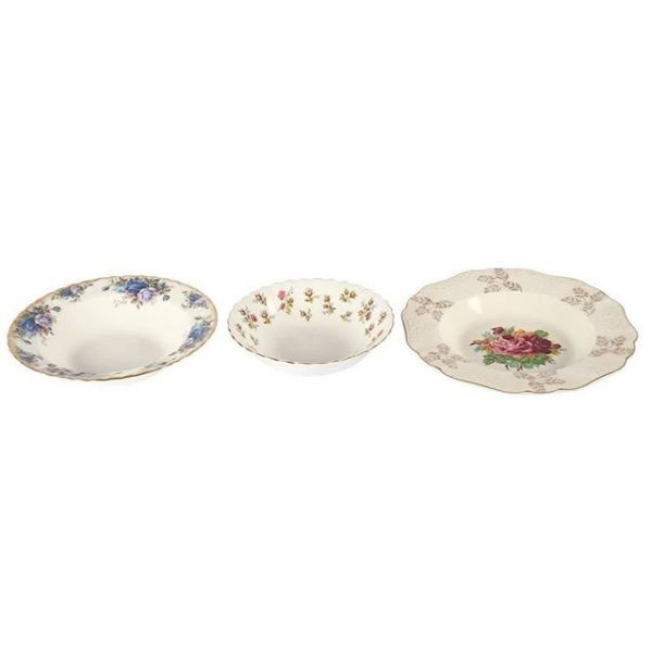 Dinnerware, Ceramic Vintage Dessert Bowl Medium