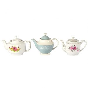 Dinnerware Ceramic Vintage Tea Pot Small
