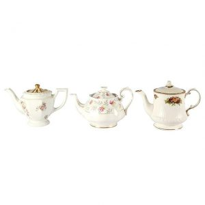 Dinnerware Ceramic Vintage Teapots Medium Large