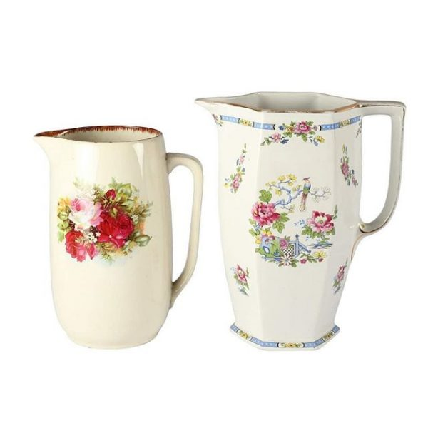 Dinnerware Ceramic Vintage Water Jugs Mixed
