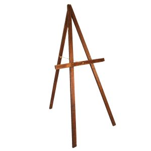 Easel Large Dark Wood AFrame