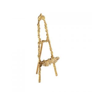 Easel Small Gold Metal