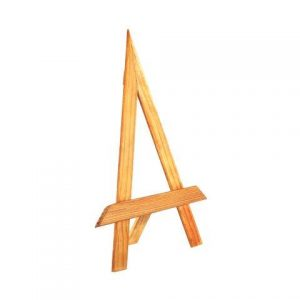 Easel Small Light Wood