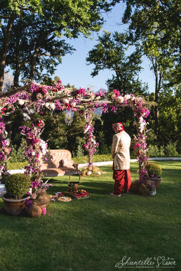 Floral Arches Pink Hydrangeas Roses Fynbos
