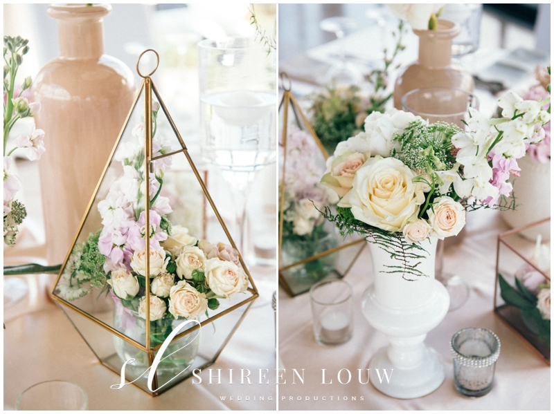 Floral Terrarium Arrangements For Wedding Reception
