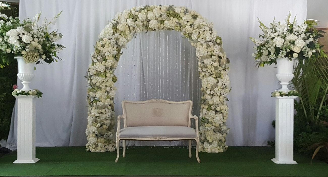 Flower Arch Arrangements