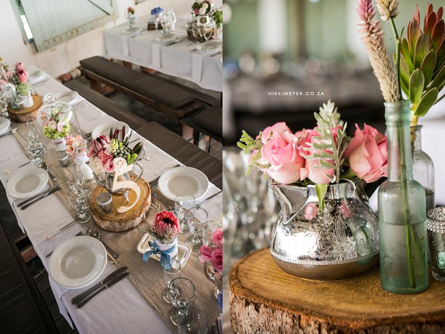 Flower Arrangement For Vintage Wedddings