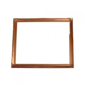 Frame Barbara Gold inside