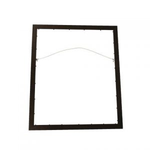 Frame Black with glass