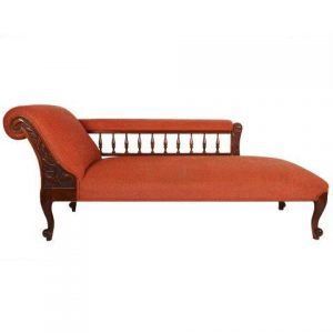 Furniture Chaise Lounge Rust