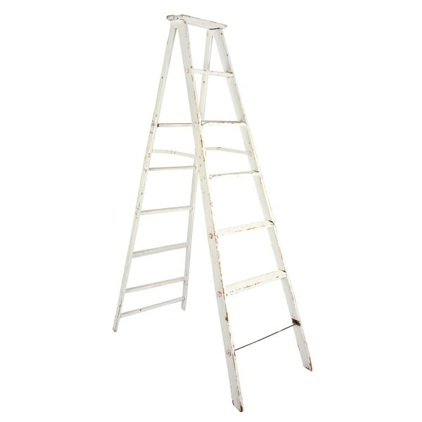 Furniture Ladder Linden  Sided White