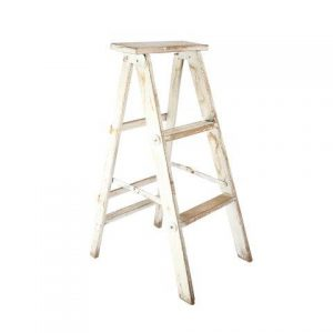 Furniture Ladder Louis White  Sided